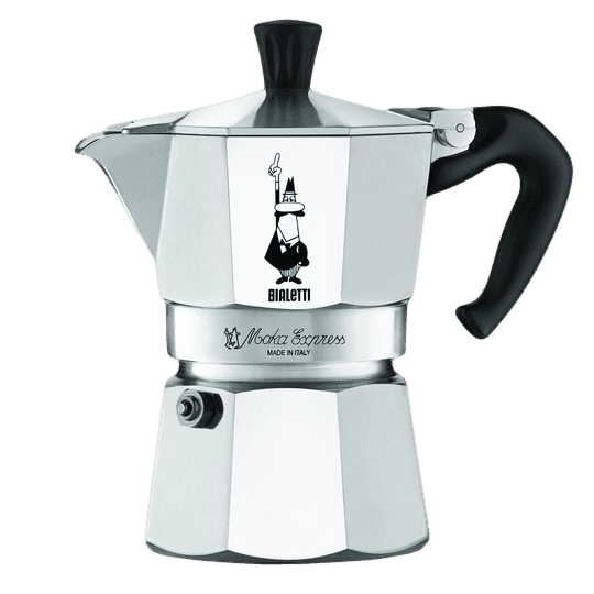 1 The Bialetti Moka Express Stovetop Espresso Maker 3 6 9 Cups